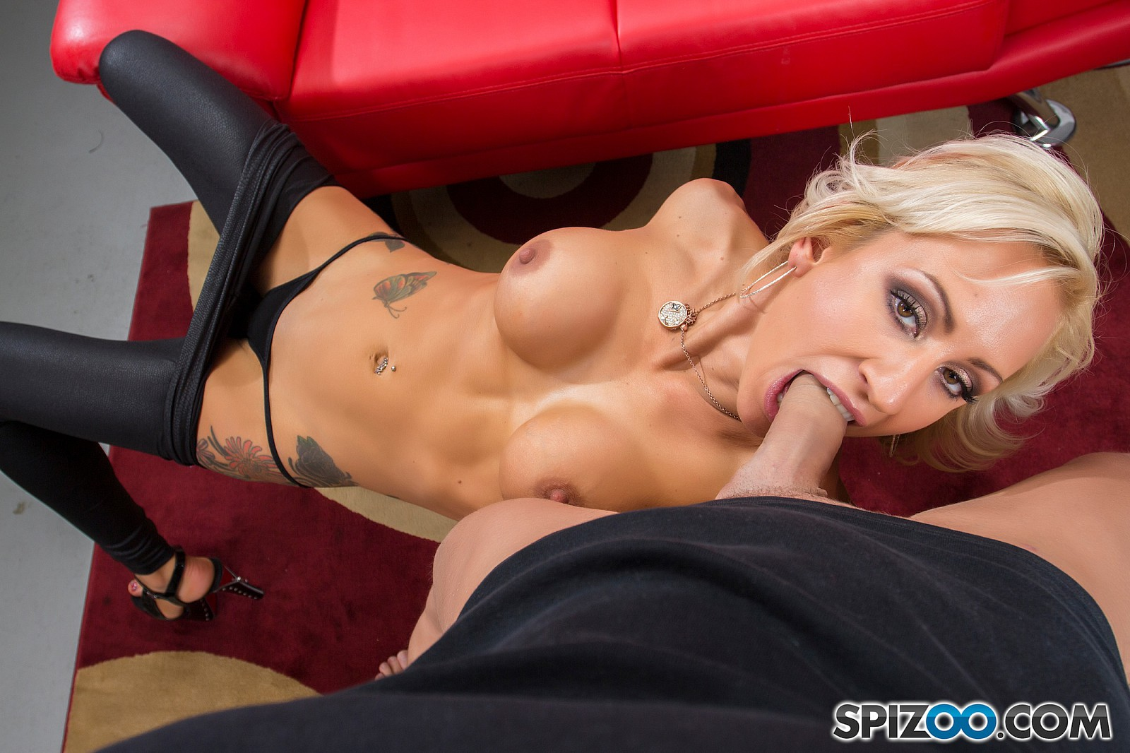 She hires a man to shoot taken doggy style 3